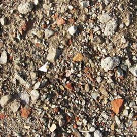 Container grond en stenen